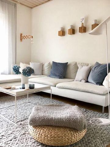 decoracion de salas minimalistas en blanco