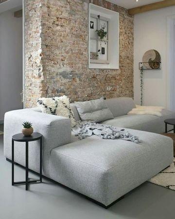 decoracion de salas minimalistas en gris