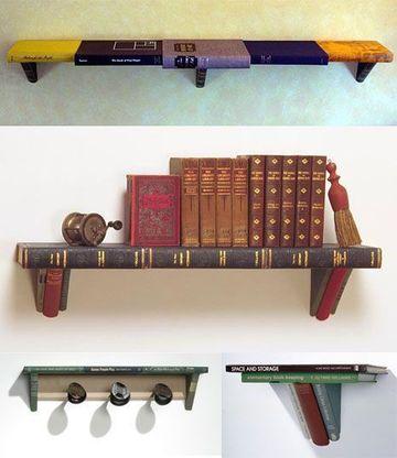 estanterias modernas para libros caseras