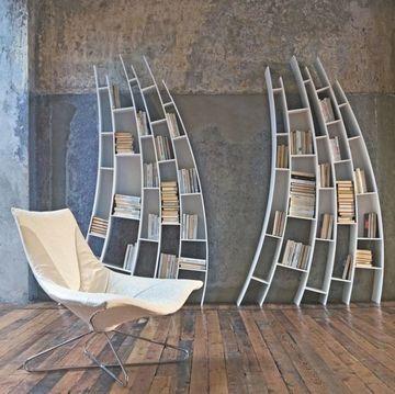 estanterias modernas para libros creativas