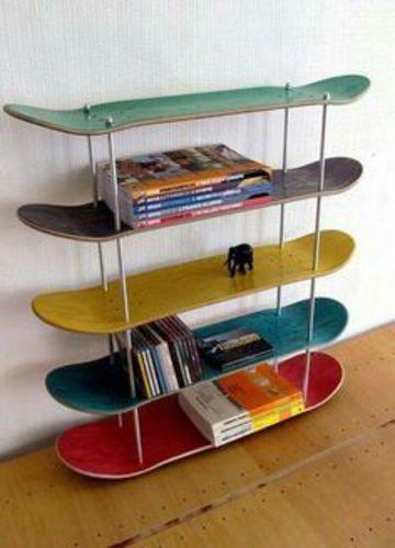 estanterias para habitacion juvenil creativa