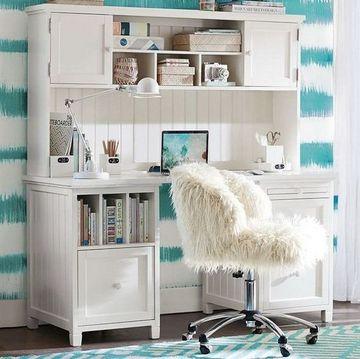 estanterias para habitacion juvenil romantica