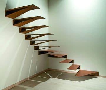 imagenes de escaleras modernas al aire
