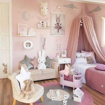imagenes de repisas de madera para cuartos de niñas
