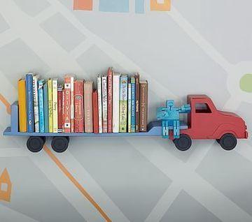 imagenes de repisas de madera para cuartos de niños
