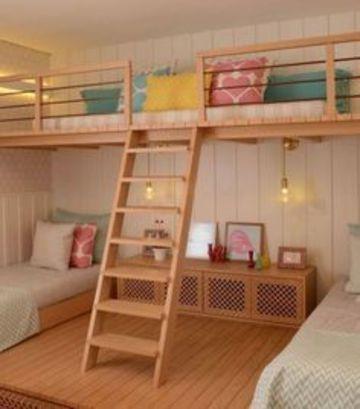 muebles para habitacion de niña amplios