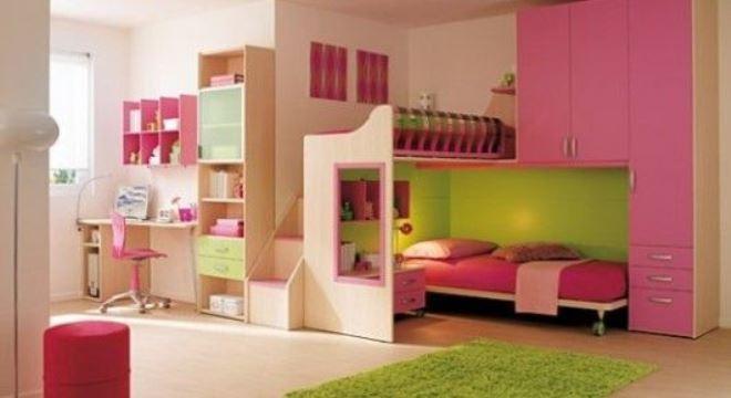 muebles para habitacion de niña con escritorio