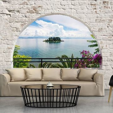 murales de paisajes para pared de salon
