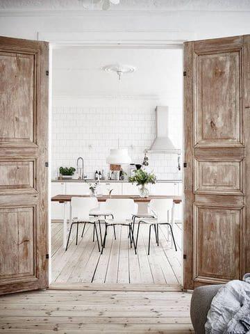 pisos para casas rusticas area de cocina