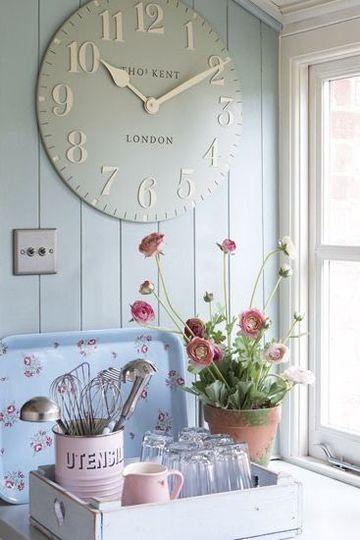 relojes de pared modernos para salon vintage