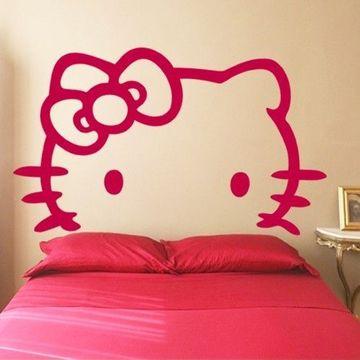 vinilos decorativos para dormitorios de niña