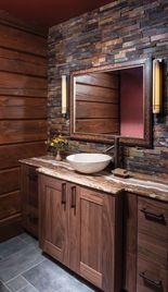 azulejos para baños rusticos en lajas