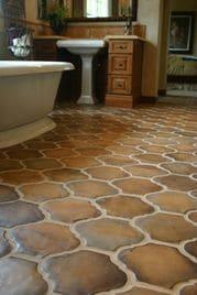 azulejos para baños rusticos grandes