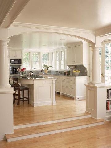 cocinas abiertas al salon comedor amplias
