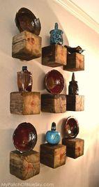 cosas rusticas de madera originales