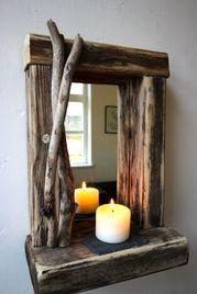 cosas rusticas de madera para decorar