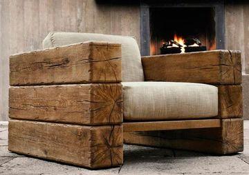cosas rusticas de madera utiles