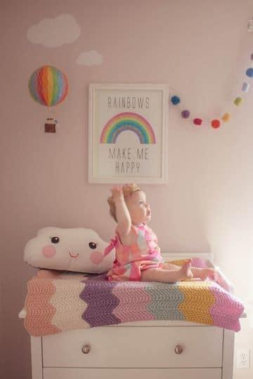 cuadros de habitacion para bebe hembra