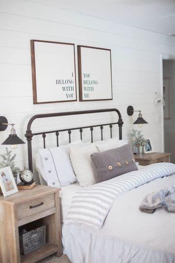 cuadros para dormitorios de matrimonio de frases