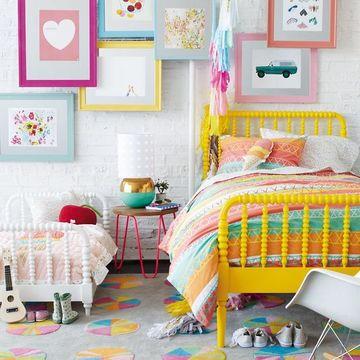 cuadros para habitaciones infantiles colores pasteles