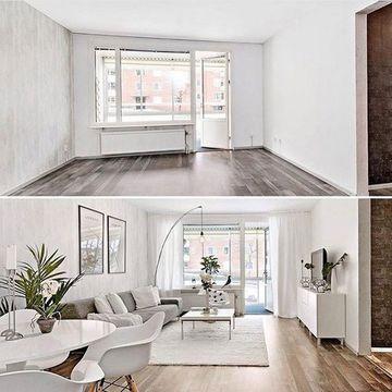 decoracion de casas minimalistas en blanco