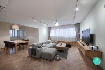 decoracion de casas minimalistas salon amplio