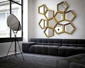 decoracion de espejos para sala moderna