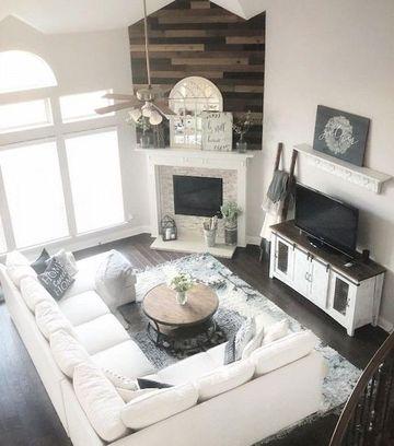diseños de muebles de sala en blanco