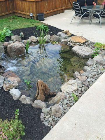 ideas para patios y jardines con agua