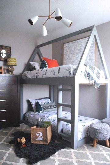 juego de dormitorio para niños sencillo