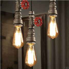 lamparas originales de techo de hierro