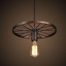lamparas originales de techo rusticas
