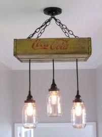 lamparas originales de techo vintage