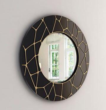 marcos para espejos modernos redondos