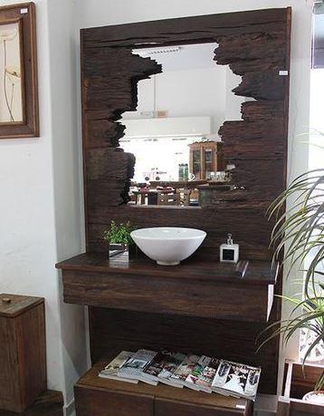 marcos para espejos modernos rusticos