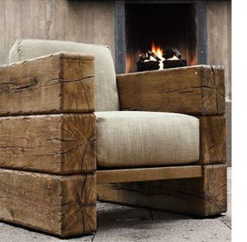 muebles de sala rusticos de madera