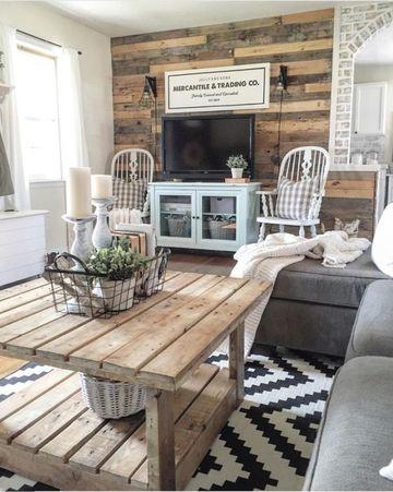 muebles de sala rusticos modernos
