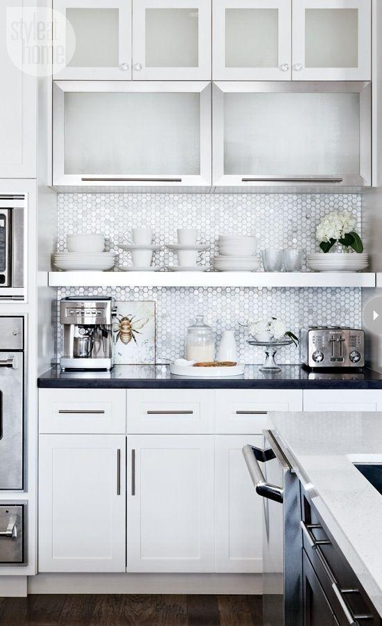 azulejos de cocina modernos para espacios pequeños