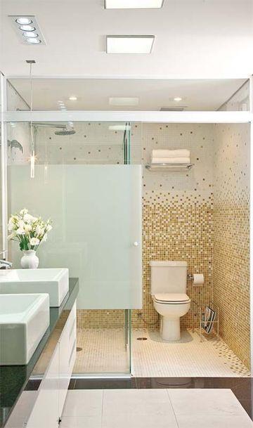 baldosas para baños modernos tipo mosaico