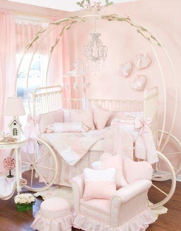 como decorar una habitacion infantil de princesa