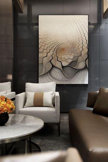 cuadros para salas pequeñas elegantes