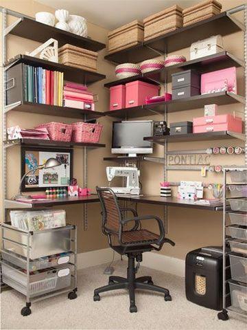 cuartos de costura pequeños y modernos