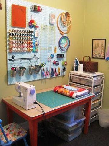 cuartos de costura pequeños y sencillos