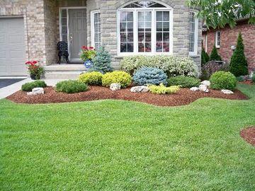 decoracion de jardines con plantas frontales