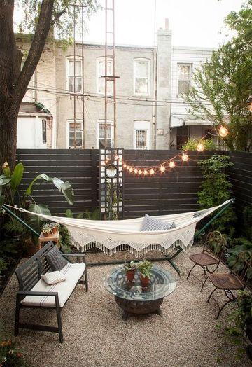 decoracion de patios exteriores pequeños