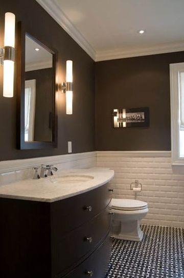 enchapes para baños modernos minimalistas