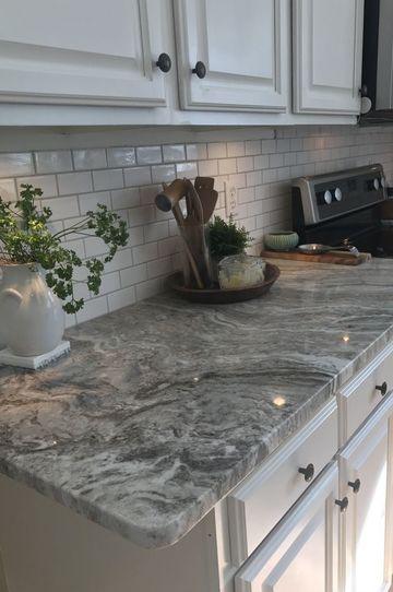 encimeras de granito para cocinas en gris