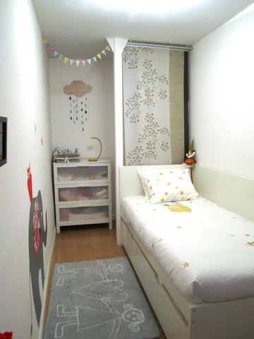 habitaciones pequeñas para niños estrecha