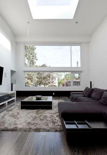 interiores de casas minimalistas amplios