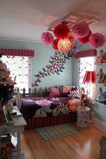 lamparas para cuartos de niñas con pompones